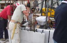 Construction site in Gorizia