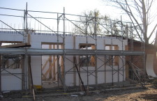 Construction site in Mestre (Ve)